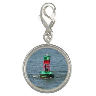 Bracelet Charm Silver Plated Buoy