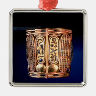 Bracelet with the cartouche of Psusennes I Metal Ornament
