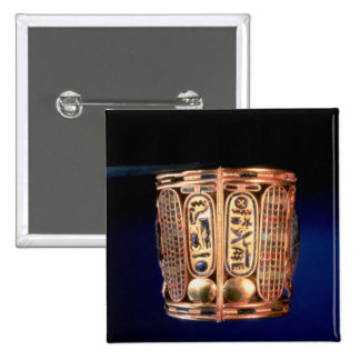 Bracelet with the cartouche of Psusennes I Pinback Button