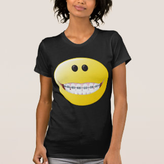Braces Smiley Face Tshirts