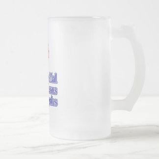 Brachial Plexus Injuries Frosted Glass Beer Mug