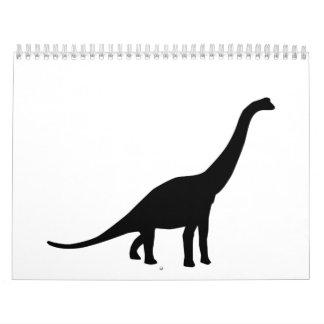 Brachiosaurus Calendar