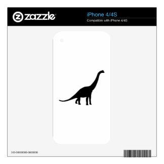 Brachiosaurus Decals For The iPhone 4