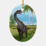Brachiosaurus del dinosaurio adorno de reyes