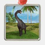 Brachiosaurus del dinosaurio ornamentos para reyes magos