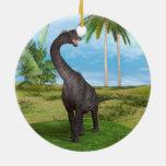 Brachiosaurus del dinosaurio ornamento para arbol de navidad