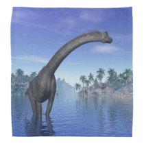Brachiosaurus dinosaur - 3D render Bandana