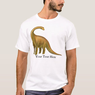 Brachiosaurus Dinosaur Adult T-Shirt