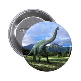 Brachiosaurus Dinosaur Buttons