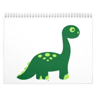 Brachiosaurus dinosaur calendar