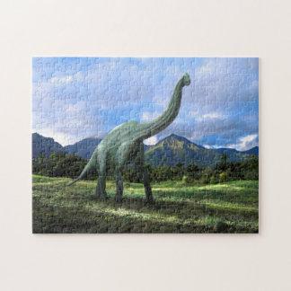 Brachiosaurus In Meadow ~ Puzzle