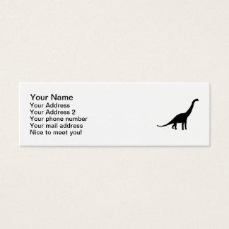 Brachiosaurus Mini Business Card