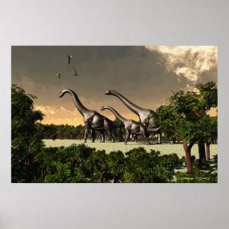 Brachiosaurus Print