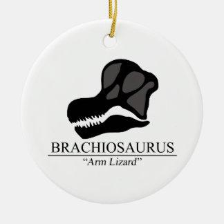 Brachiosaurus Skull Ceramic Ornament