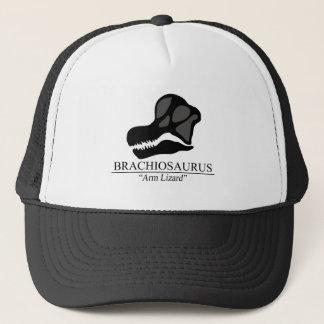 Brachiosaurus Skull Trucker Hat