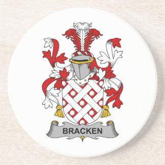 Bracken Family Crest Beverage Coaster