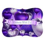 Bracket Balloon Heart Customizable Invitation