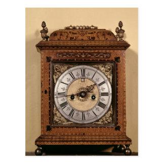 Bracket clock, c.1700 postcard