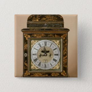 Bracket clock, movement by James Boyce, c.1705 Button