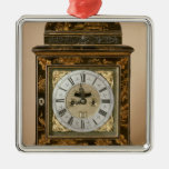 Bracket clock, movement by James Boyce, c.1705 Christmas Tree Ornaments