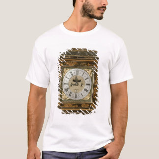 Bracket clock, movement by James Boyce, c.1705 T-Shirt
