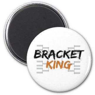 Bracket King College Basketball 2 Inch Round Magnet