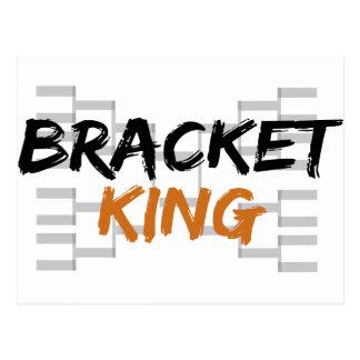 Bracket King College Basketball Postcard