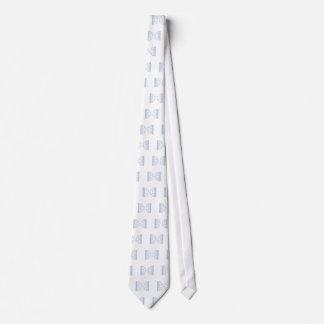 bracketology blue neck tie