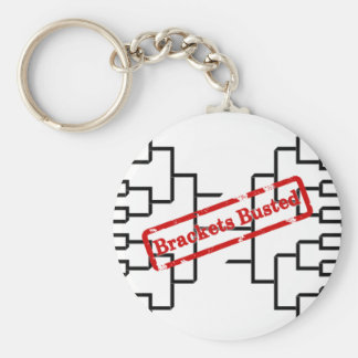 Bracketology - Brackets Busted Keychain