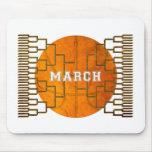 Bracketology March Basketball Awesomeness Mouse Pad