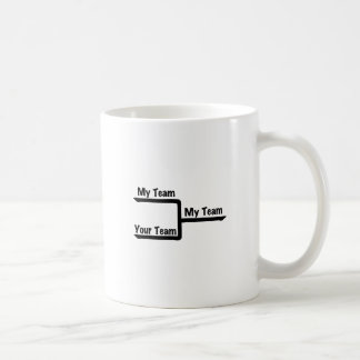 Bracketology - My Team vs Your Team Coffee Mug