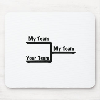 Bracketology - My Team vs Your Team Mouse Pad