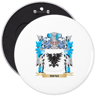 Brad Coat of Arms Pinback Buttons
