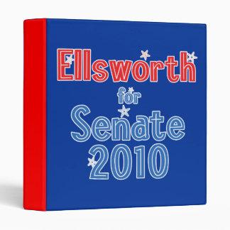 Brad Ellsworth for Senate 2010 Star Design Vinyl Binders