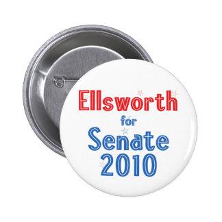 Brad Ellsworth for Senate 2010 Star Design 2 Inch Round Button