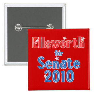 Brad Ellsworth for Senate 2010 Star Design Pin
