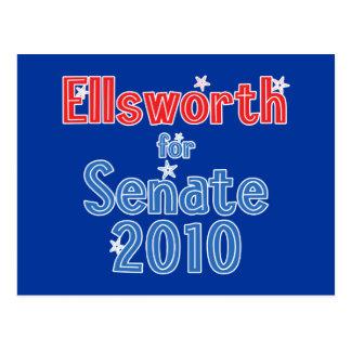 Brad Ellsworth for Senate 2010 Star Design Postcard