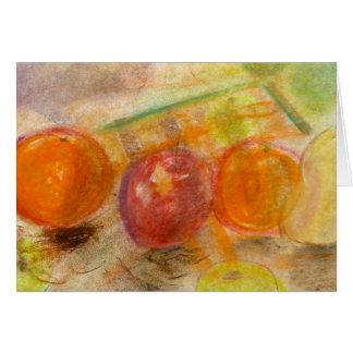 Brad Hines Fruit in Pastel Notecards Card