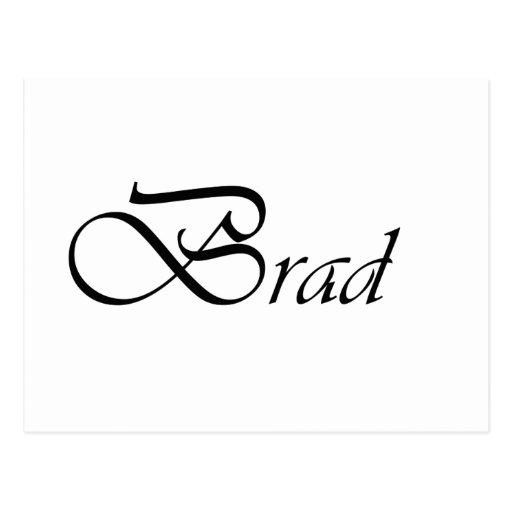 Brad Tarjeta Postal