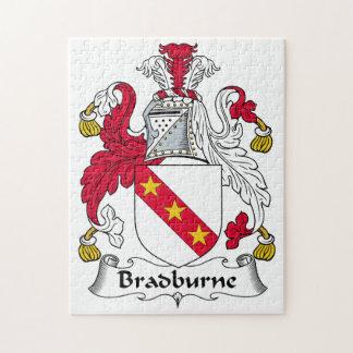 Bradburne Family Crest Jigsaw Puzzle