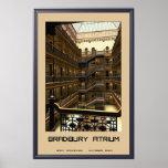 Bradbury Atrium Poster