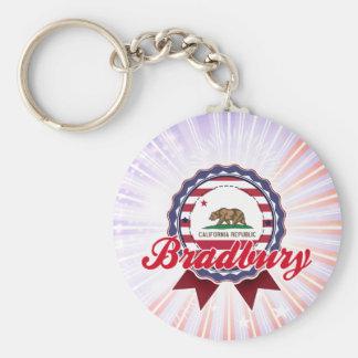 Bradbury, CA Key Chain