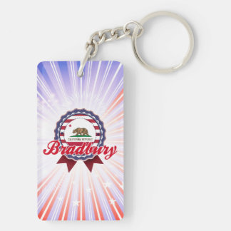 Bradbury, CA Acrylic Keychain