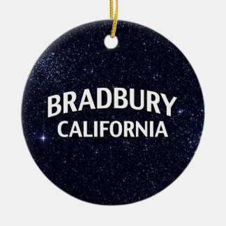 Bradbury California Adorno Navideño Redondo De Cerámica