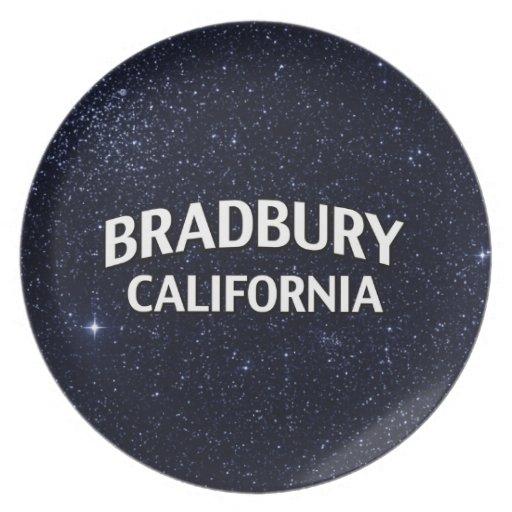 Bradbury California Melamine Plate