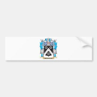Bradbury Coat of Arms Bumper Stickers