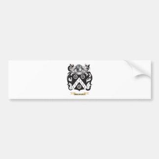 Bradbury Coat of Arms (Family Crest) Bumper Stickers