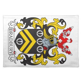 Bradbury Coat of Arms III Cloth Placemat