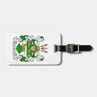 Bradbury Coat of Arms Tags For Luggage