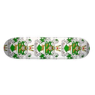 Bradbury Coat of Arms Skateboard Deck